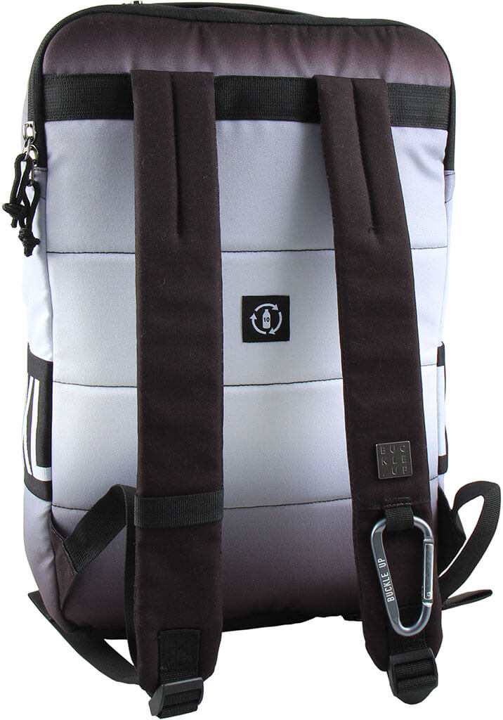 BUCKLE UP BACKPACK ACHIEL SHADOW GREY