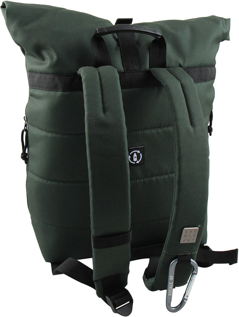 BUCKLE UP BACKPACK ALPHONS EVER GREEN