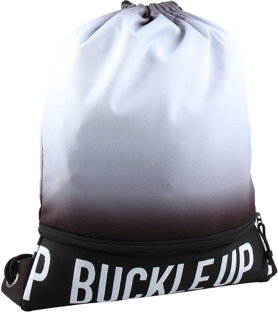 BUCKLE UP GYMBAG ANTOINE SHADOW GREY